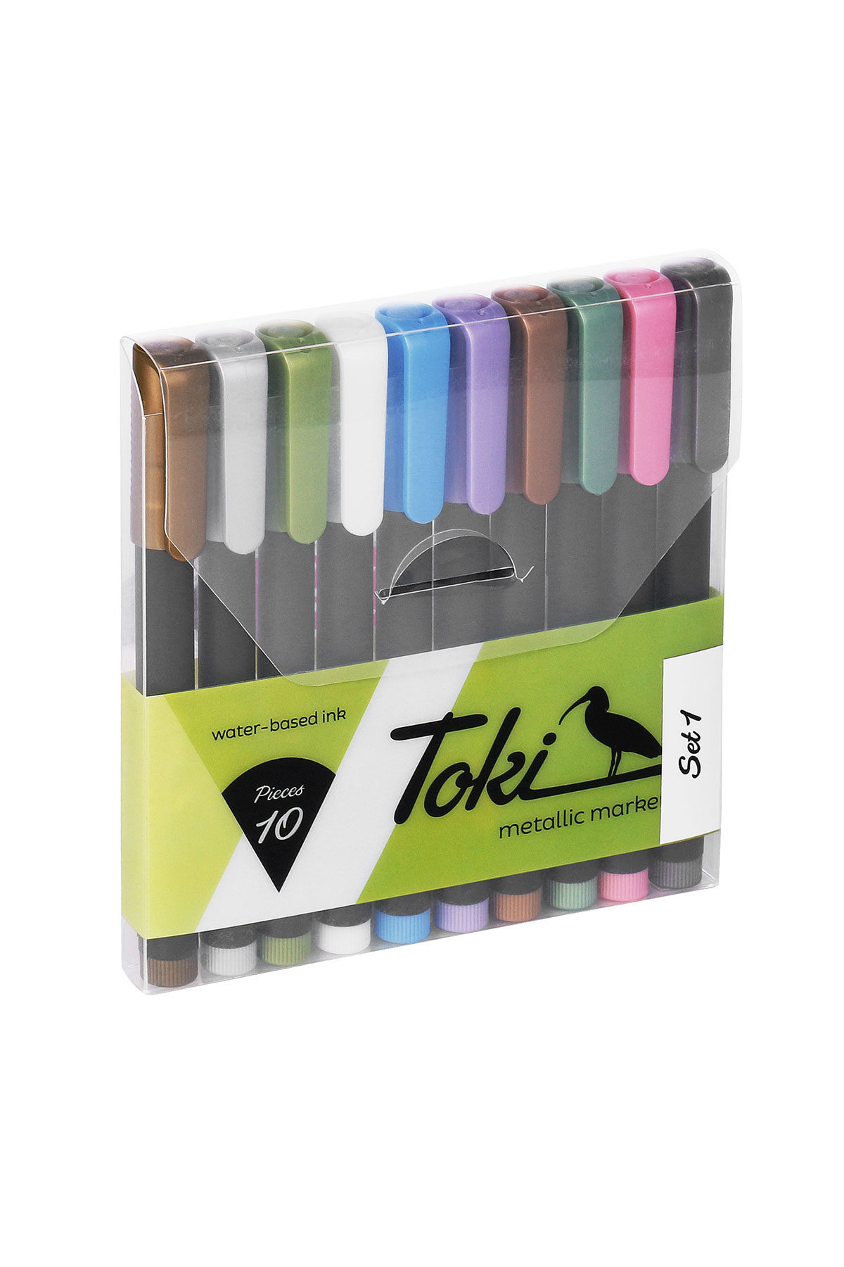 Toki METALLICMARKER 10 Set 1