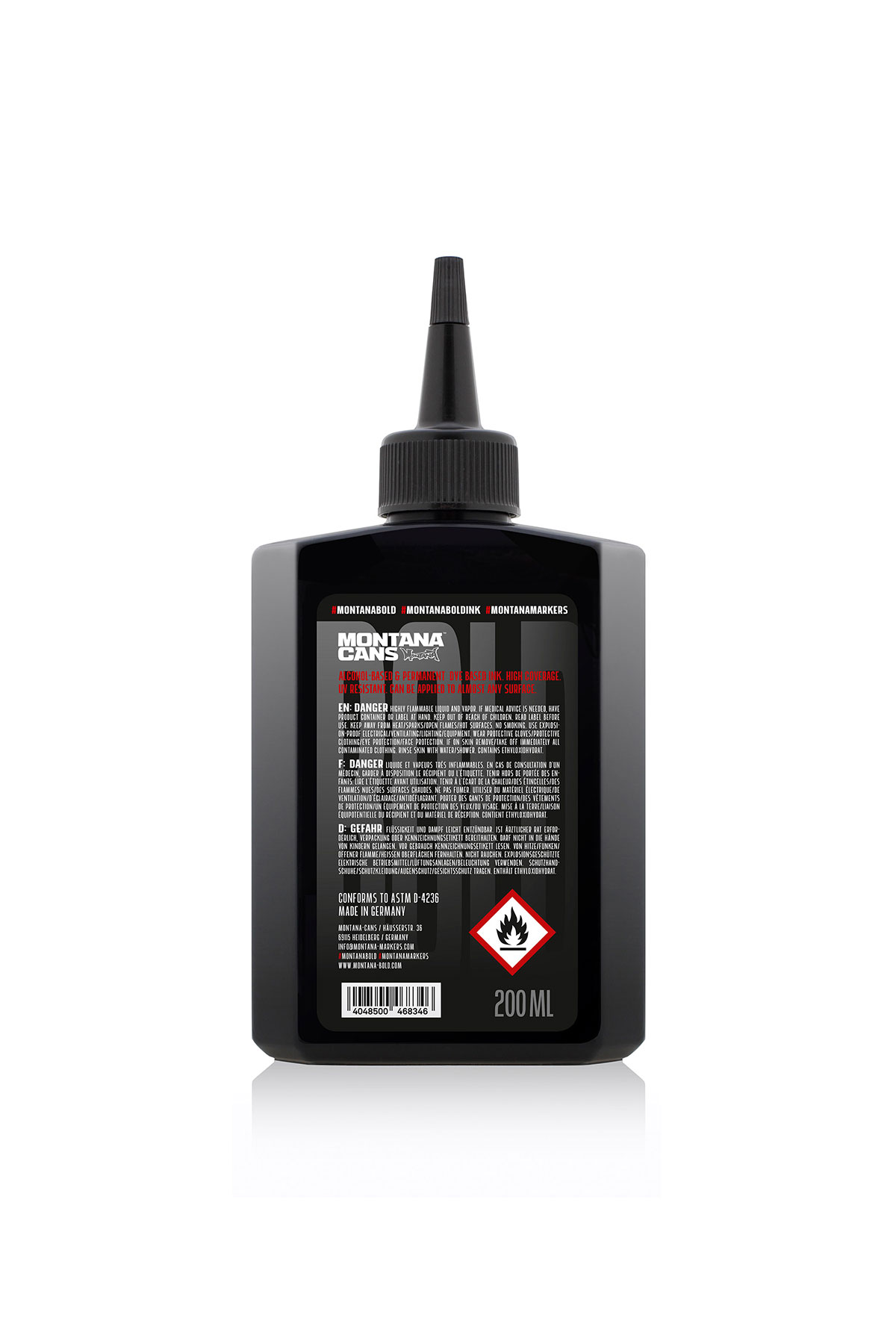 Montana BOLD ULTRA INK Refill 200ml