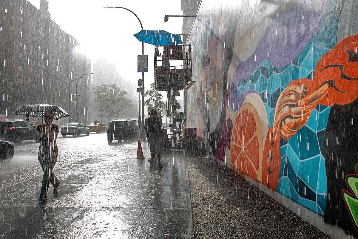 """TRISTAN EATON - """"Intermission"""", l'ultimo lavoro sul Bovery Wall a New York"""
