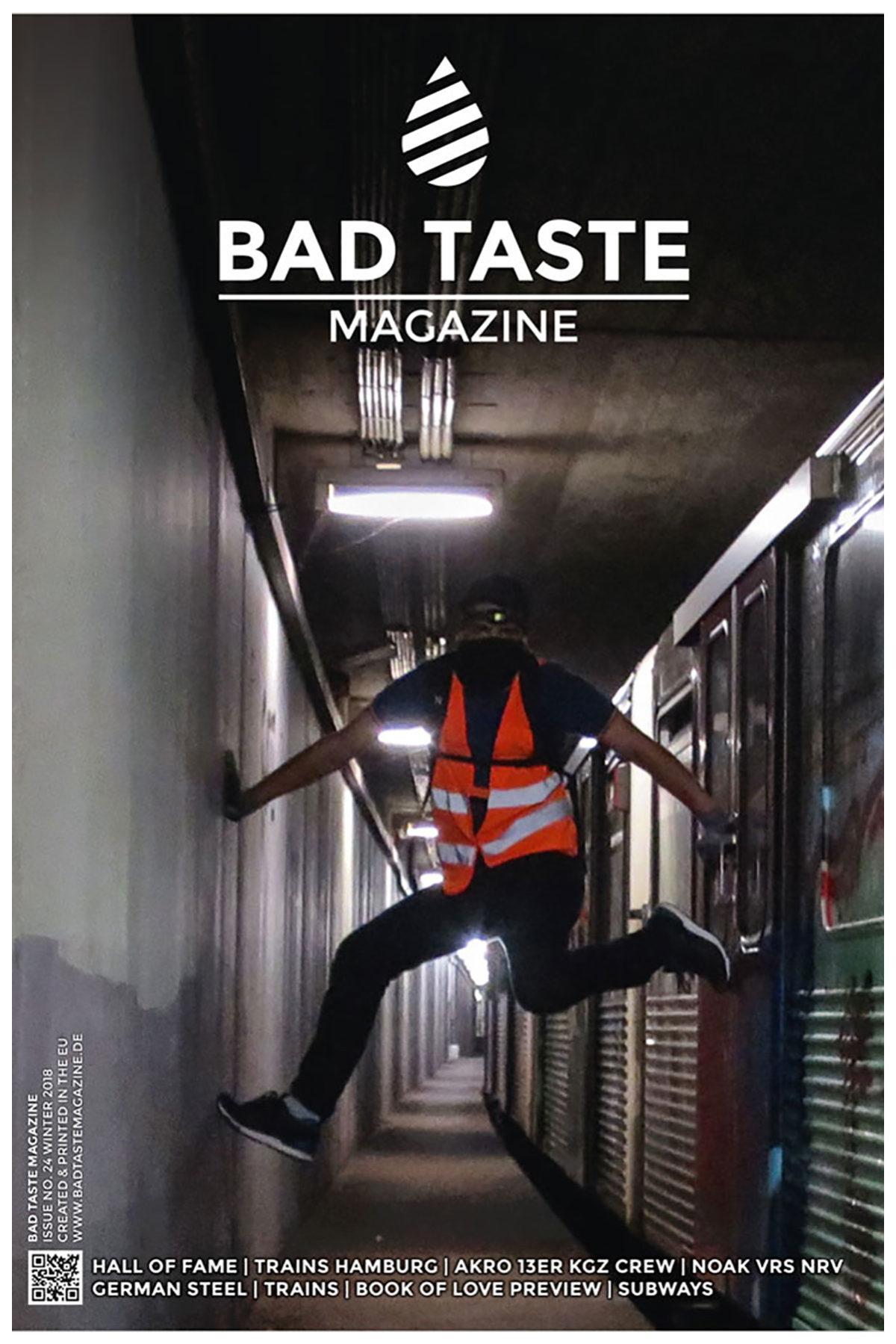 BAD TASTE #24 Magazine