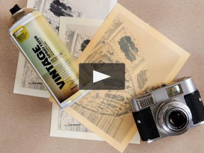 FAI DA TE: Invecchiare una foto con la Montana Vintage