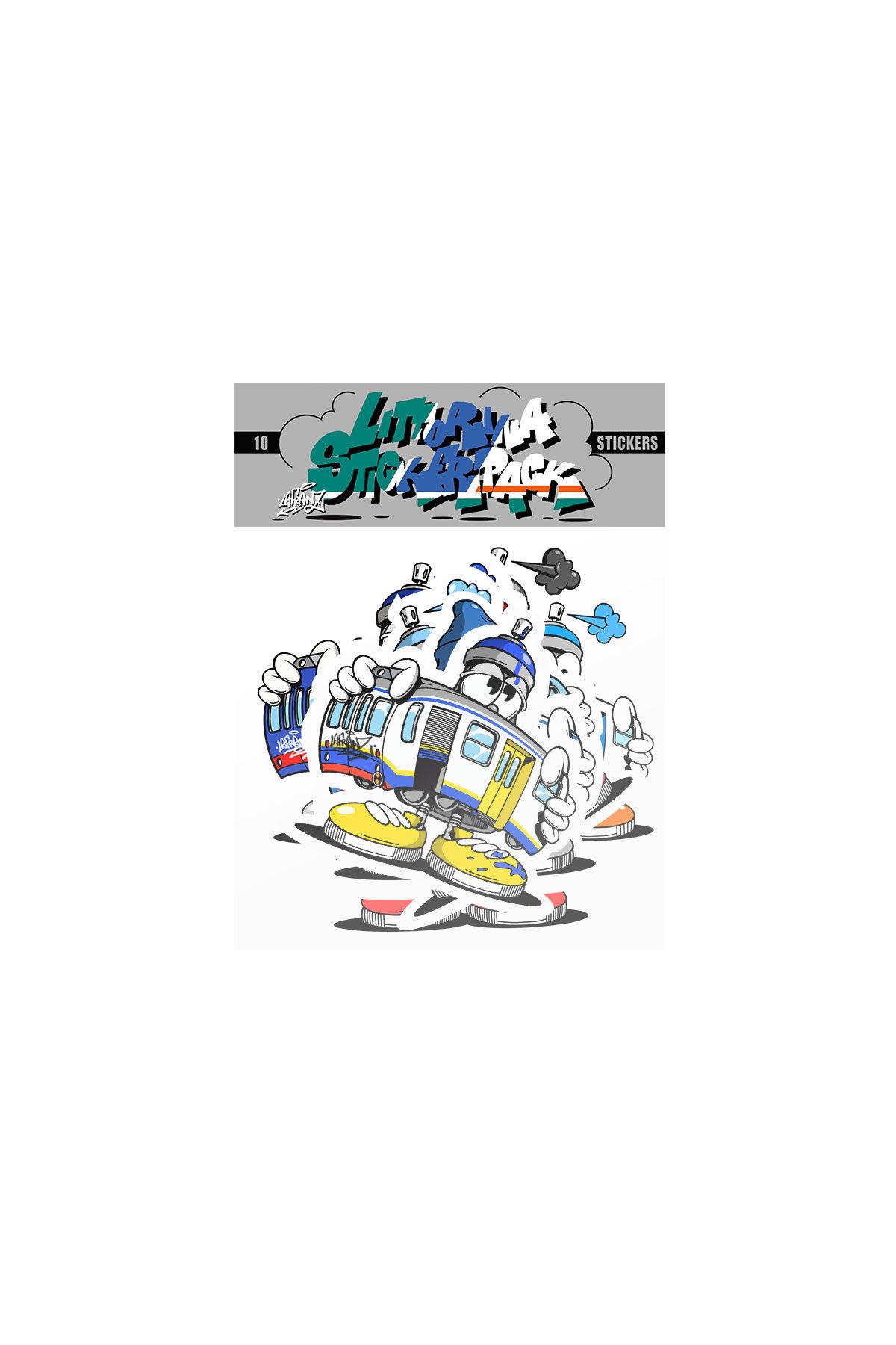 La Franz LITTORINA Sticker Pack 1 x10