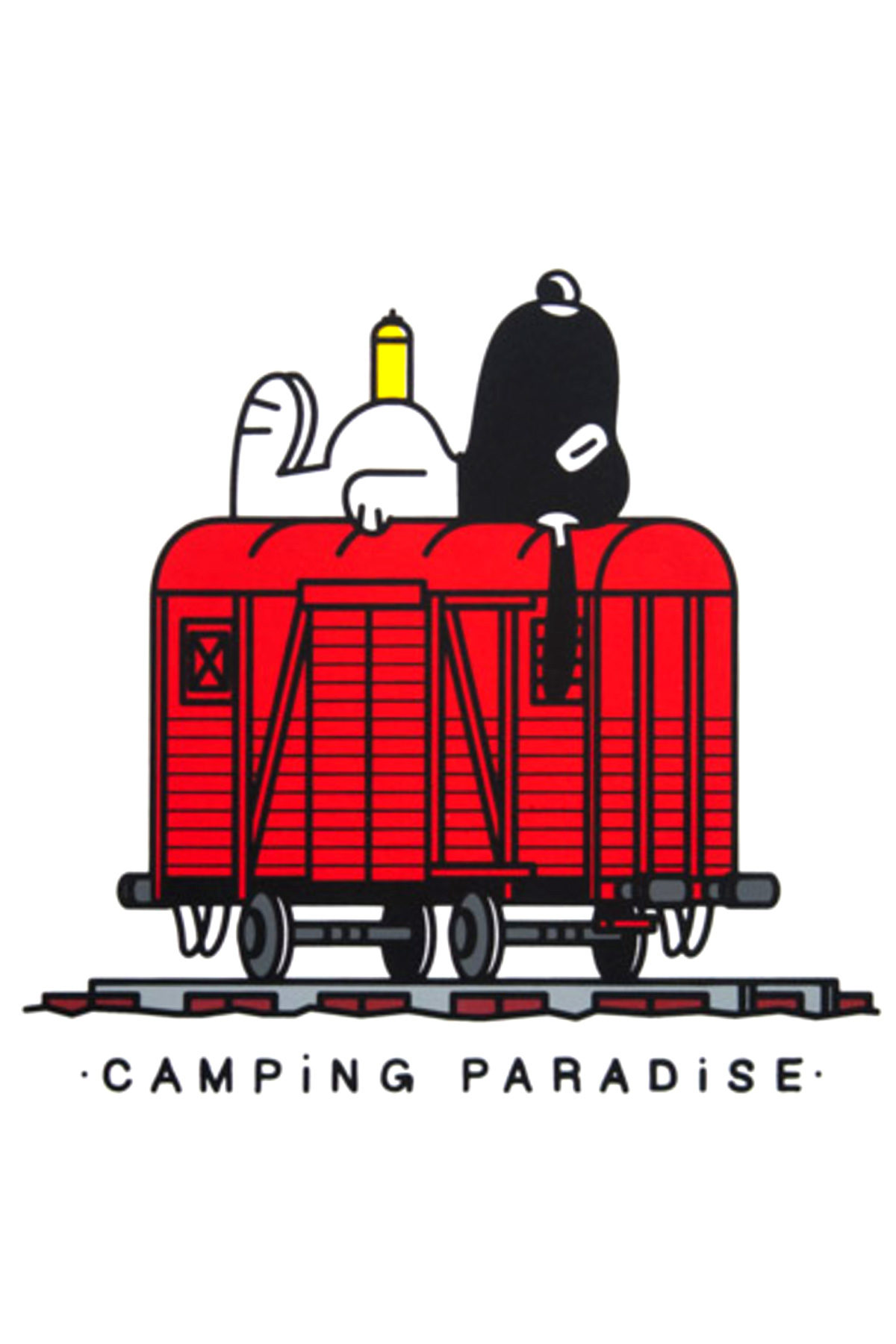 Stampa CAMPING PARADISE by Vandals On Holidays