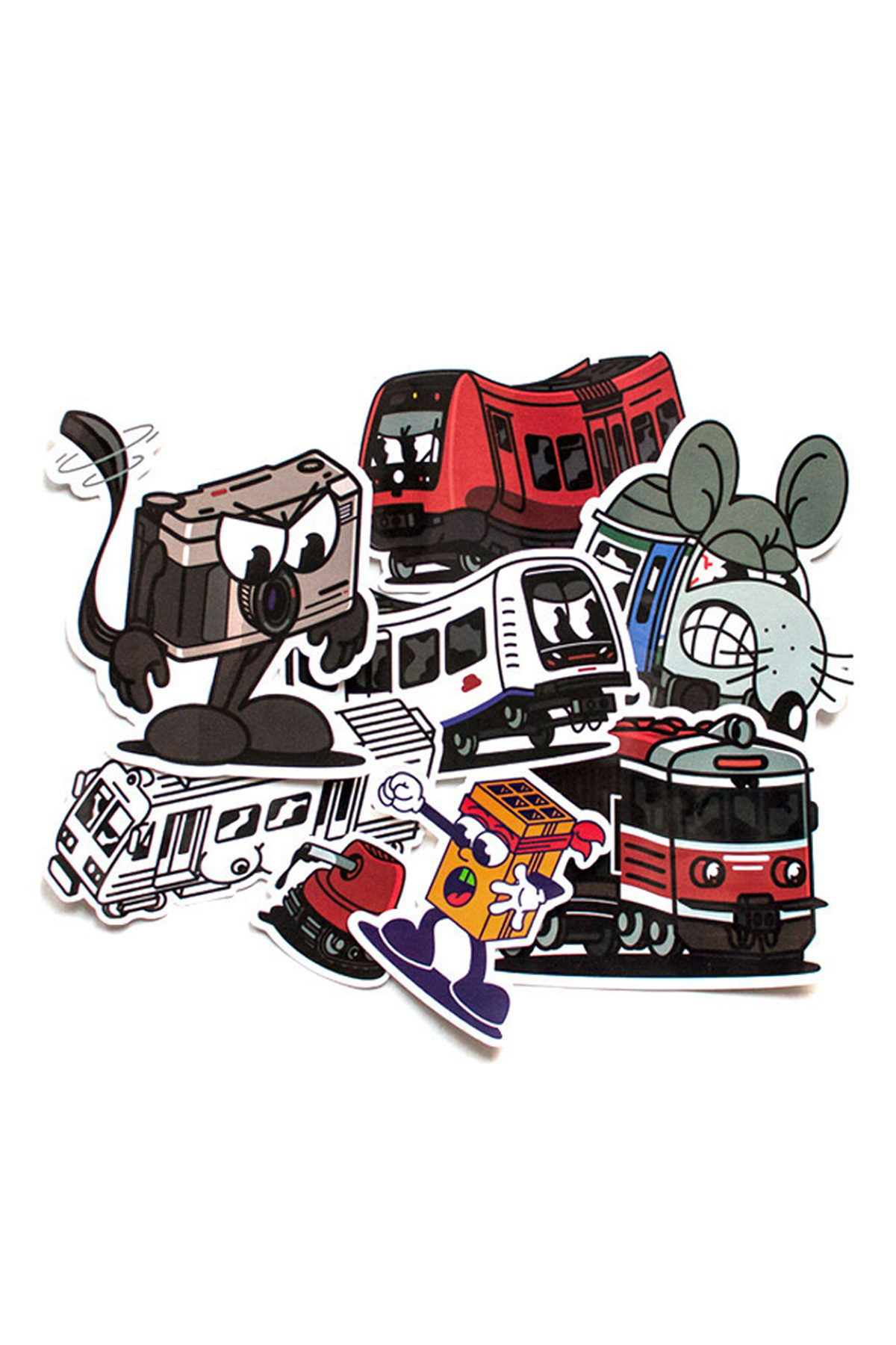 Vandals On Holidays STICKER Set 2