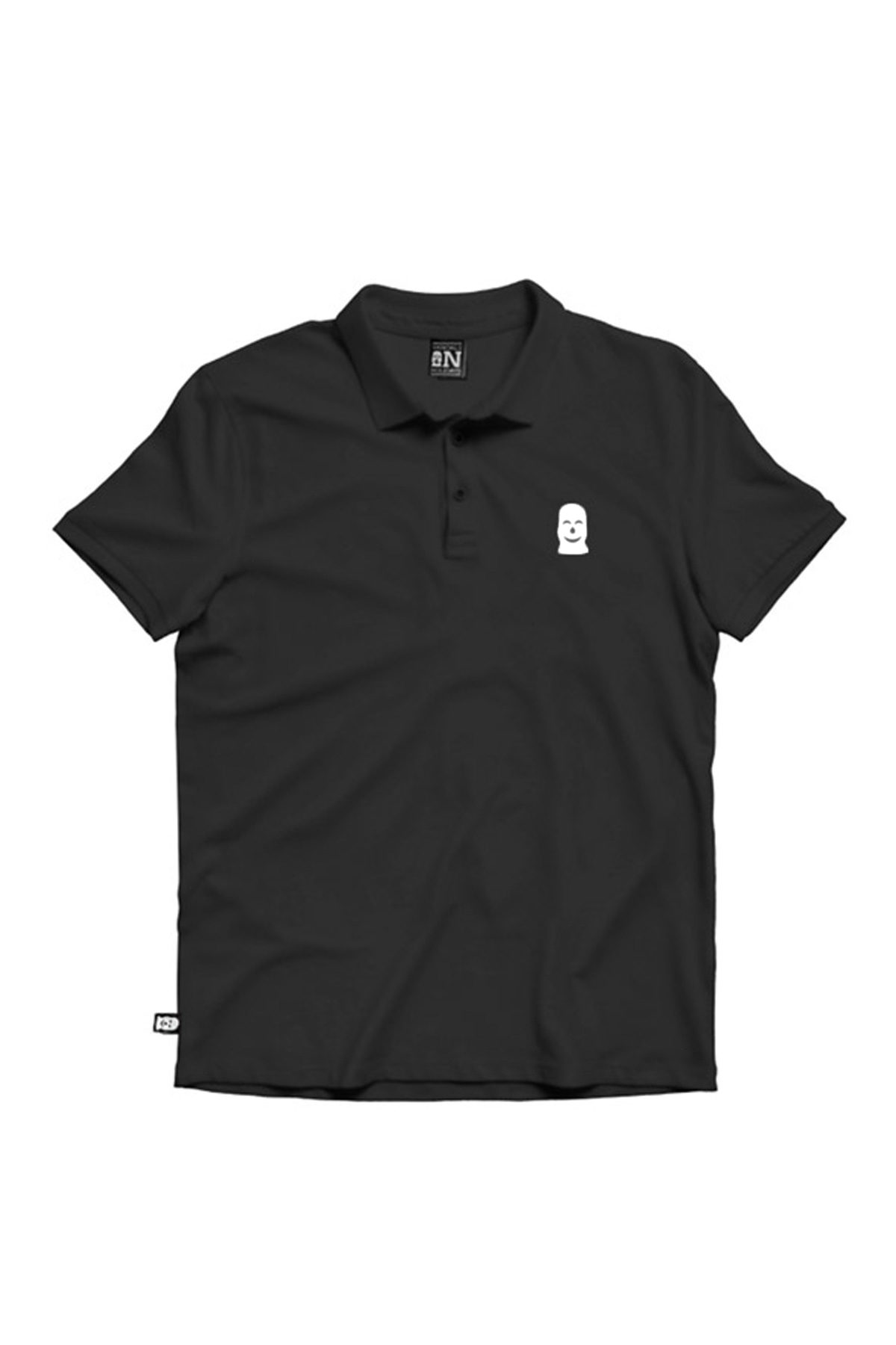 Vandals On Holidays WHITE MASK POLO Black T-Shirt