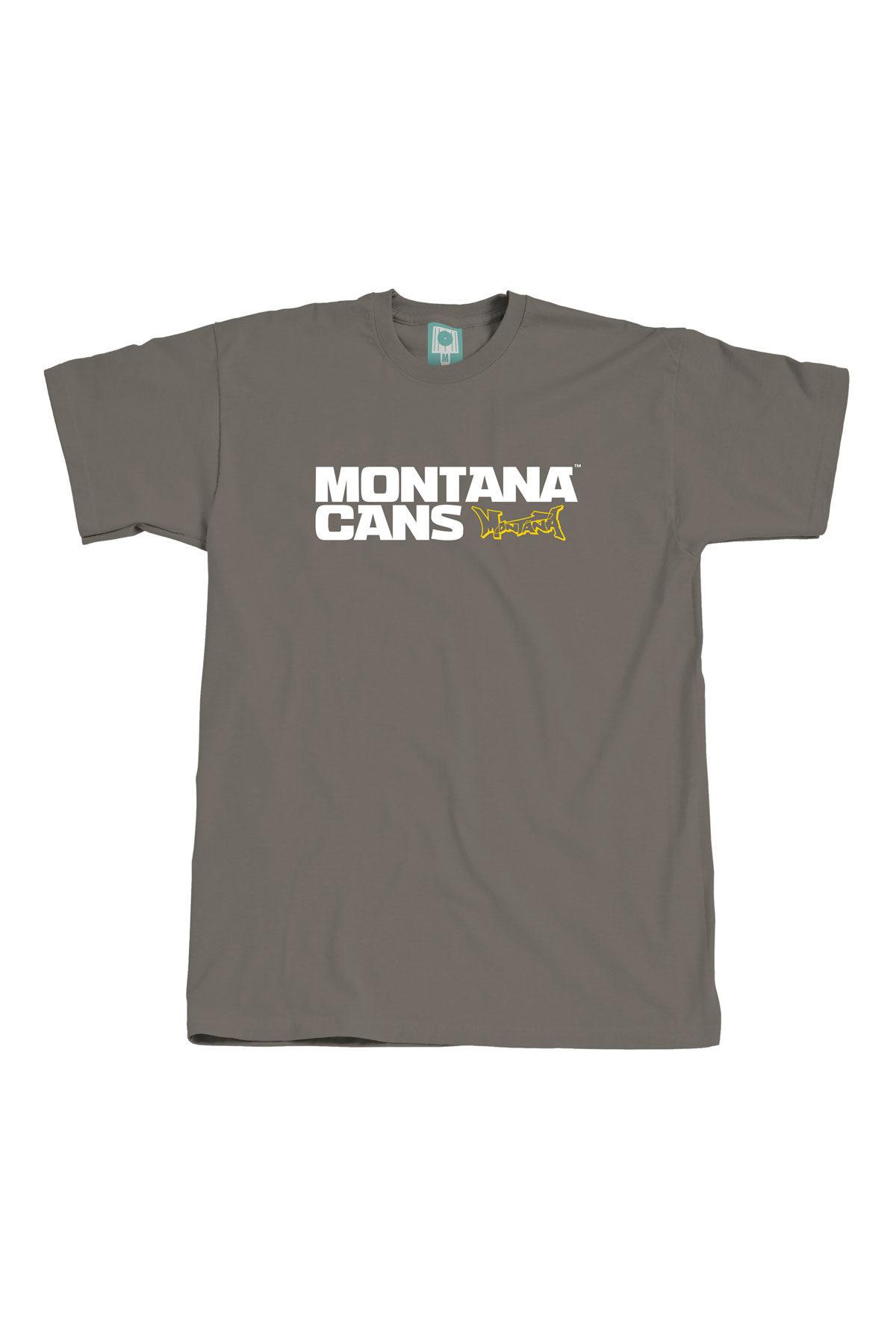 Montana TYPO+LOGO Meteor T-Shirt