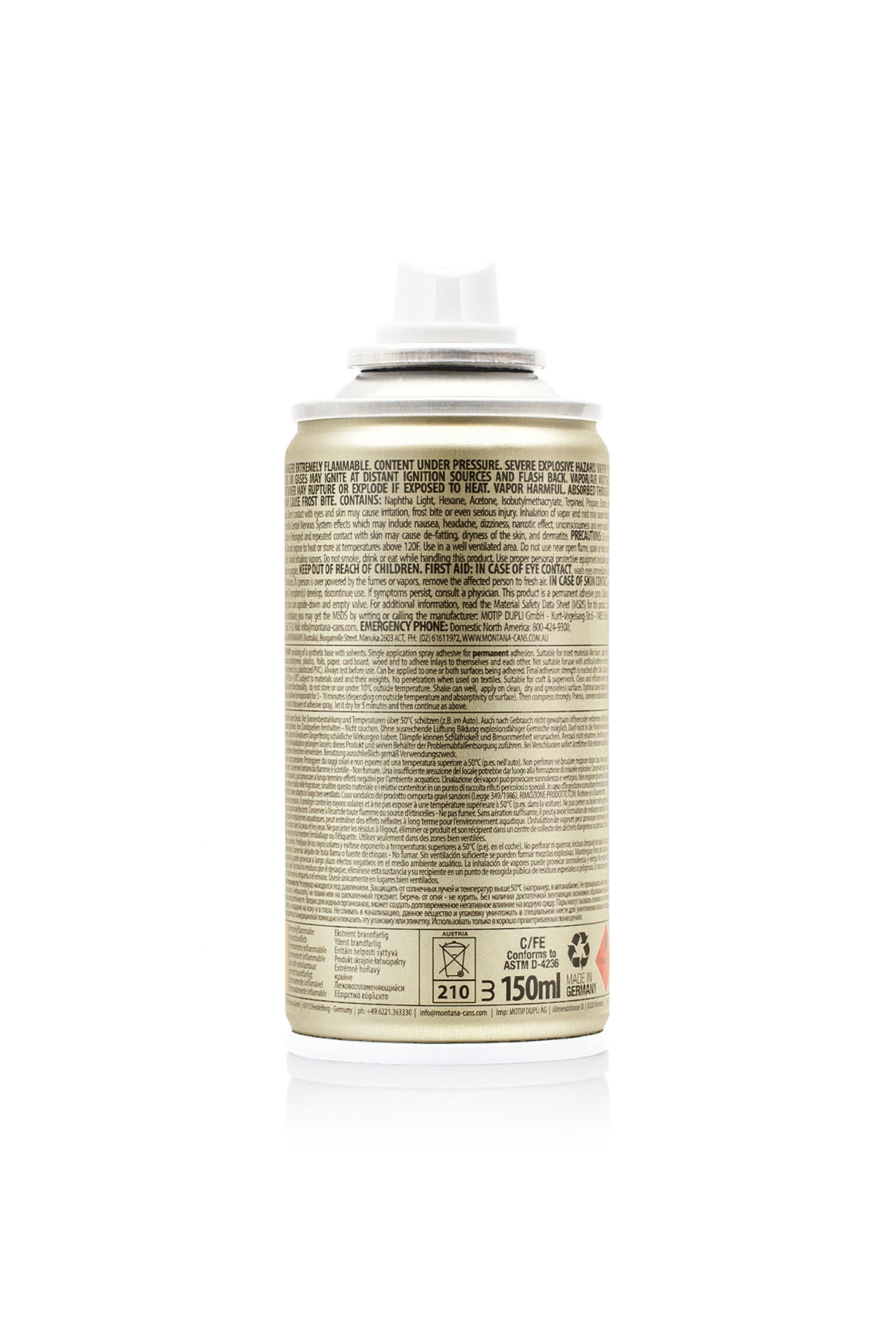Montana ADHESIVE - COLLA SPRAY 150ml