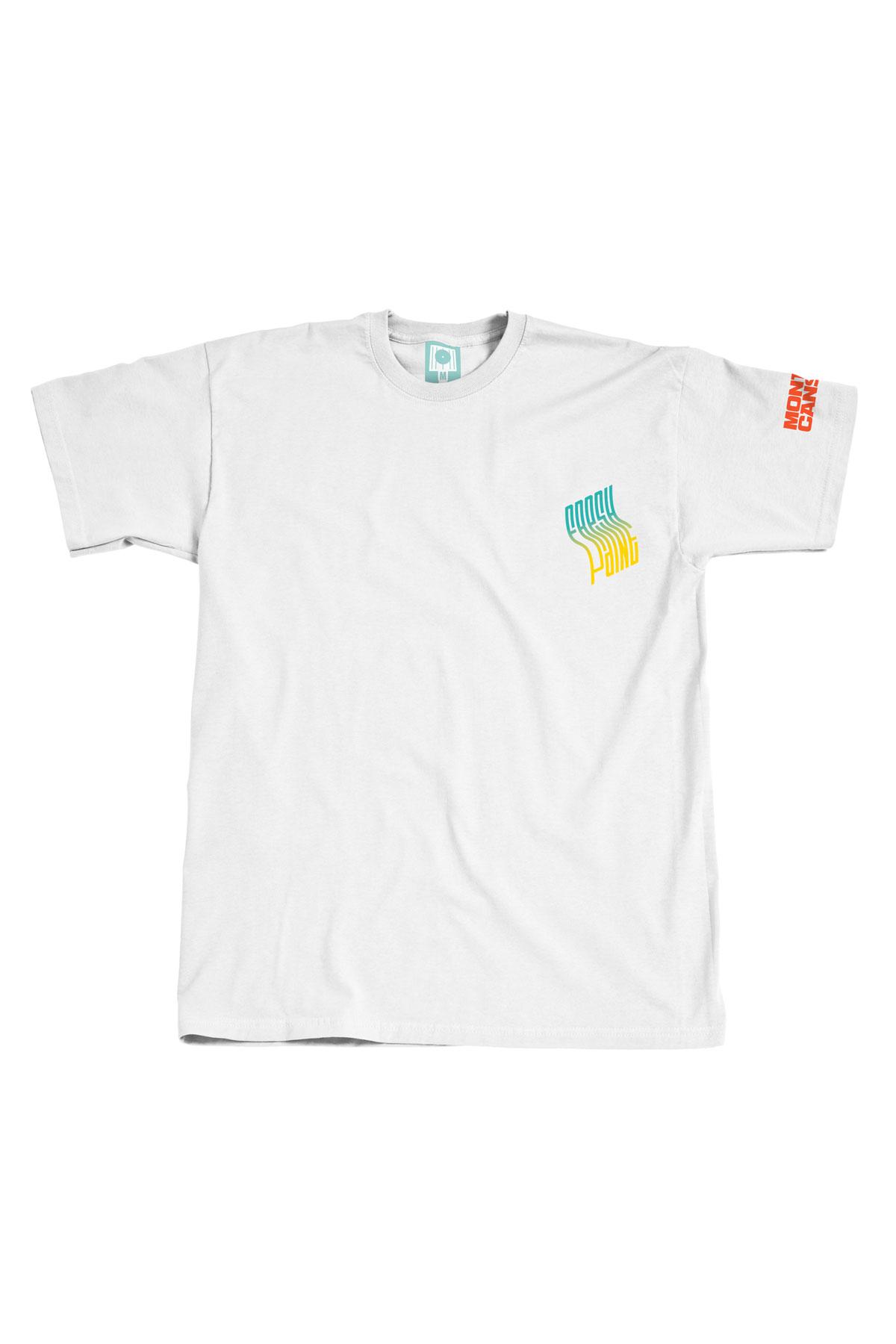 Montana FRESH PAINT FADE White T-Shirt by Prefid
