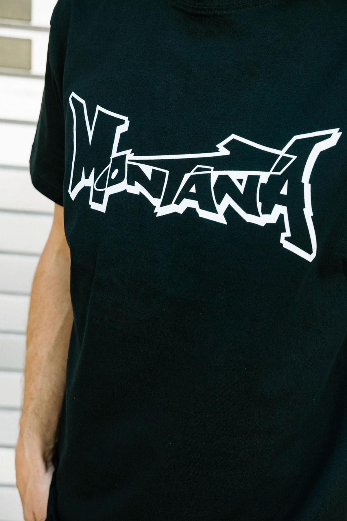 Montana LOGO Black T-Shirt