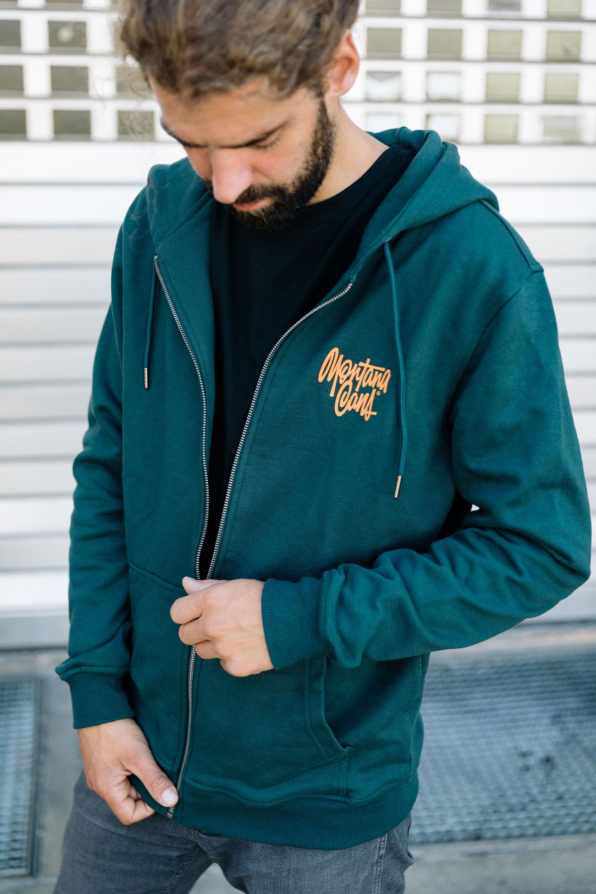 Montana TAG Green Felpa con zip by Shapiro