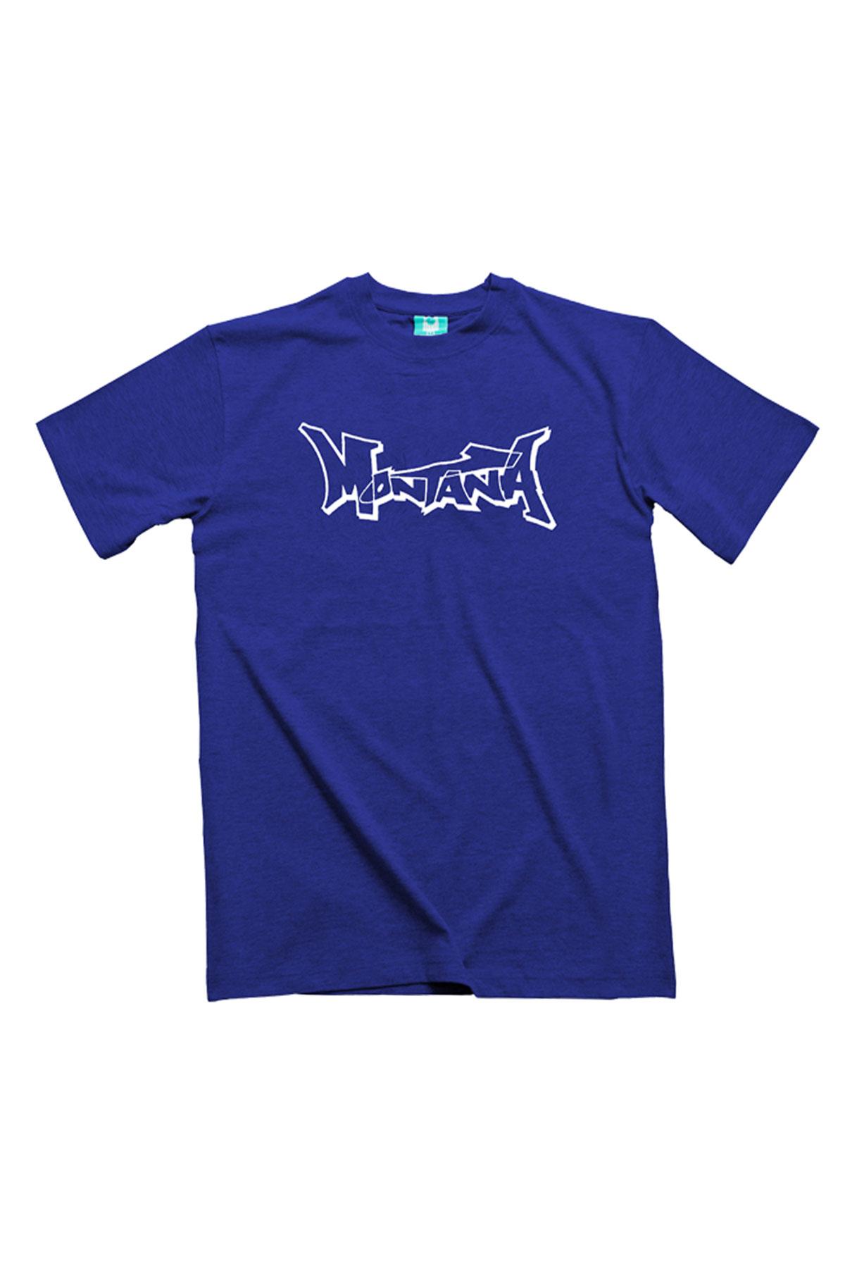 Montana LOGO Royal Blue T-Shirt