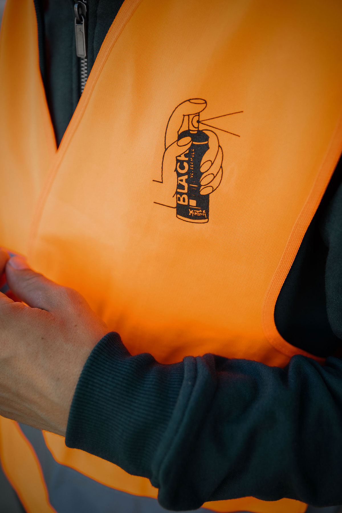 Montana GILET CATARIFRANGENTE Orange