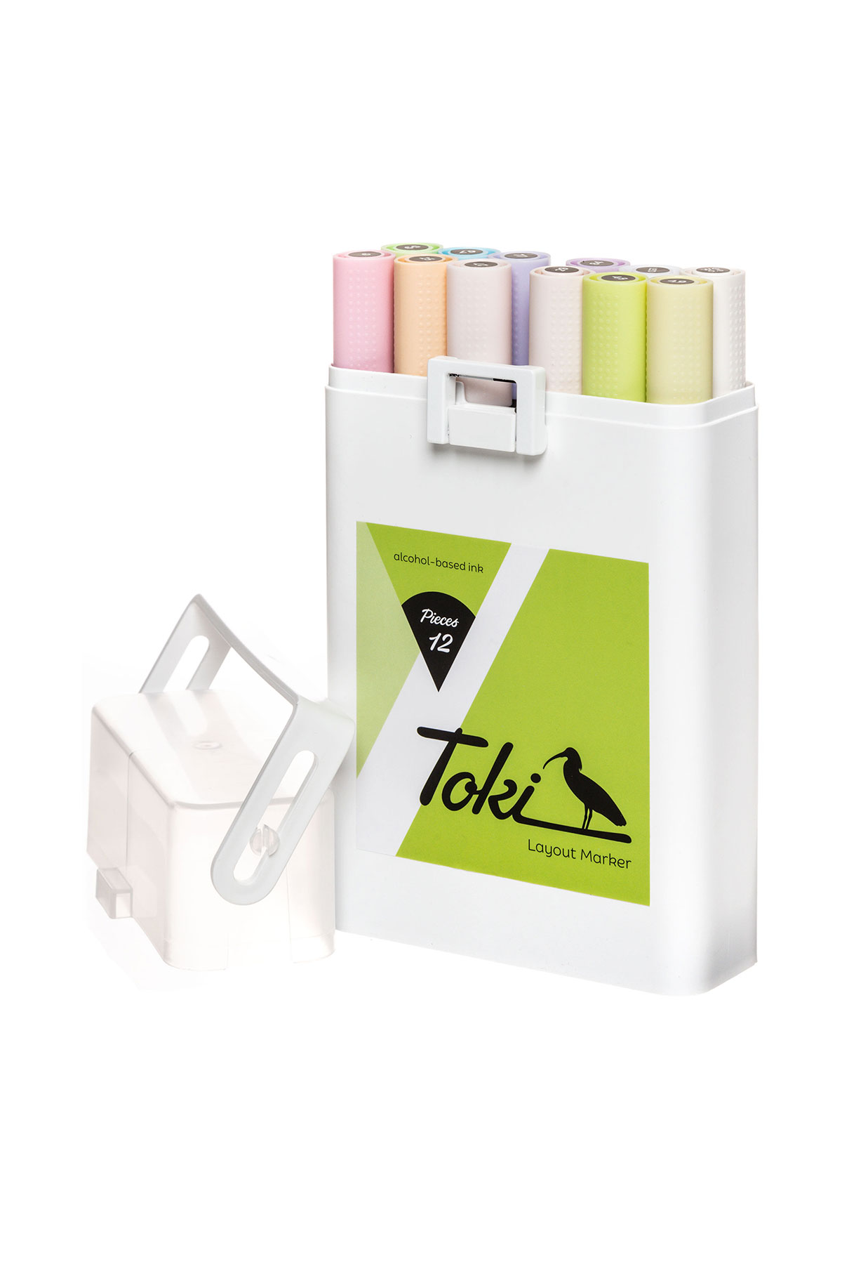 Toki LAYOUTMARKER 12 Set Pastel