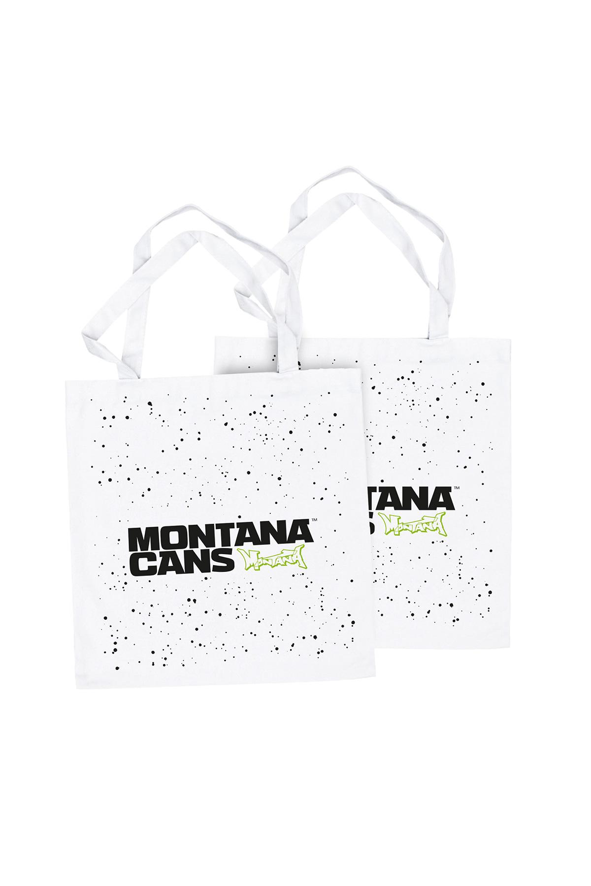 Montana TYPO+LOGO STARS Cotton Bag