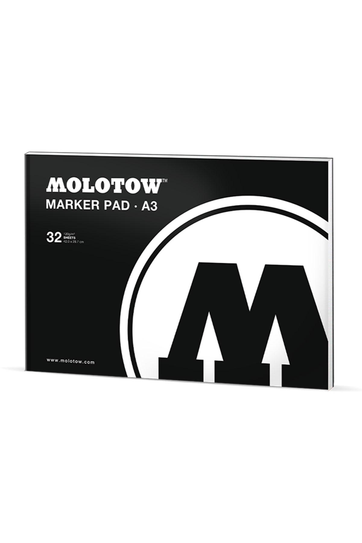 Molotow BASIC MARKER PAD White A3