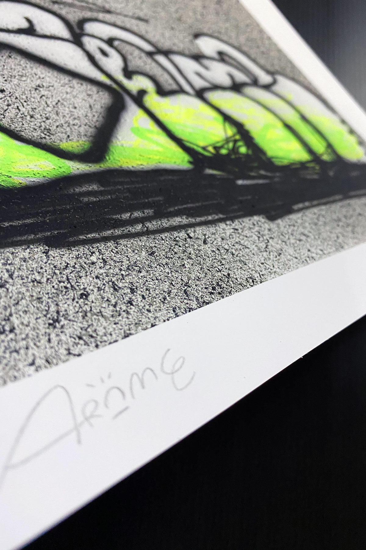 Illustrazione THROW-UP 24 by Arome