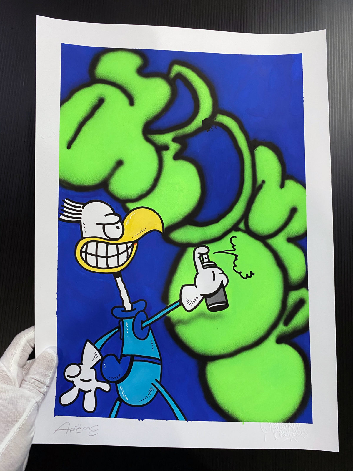 Illustrazione THROW-UP 31 by Arome
