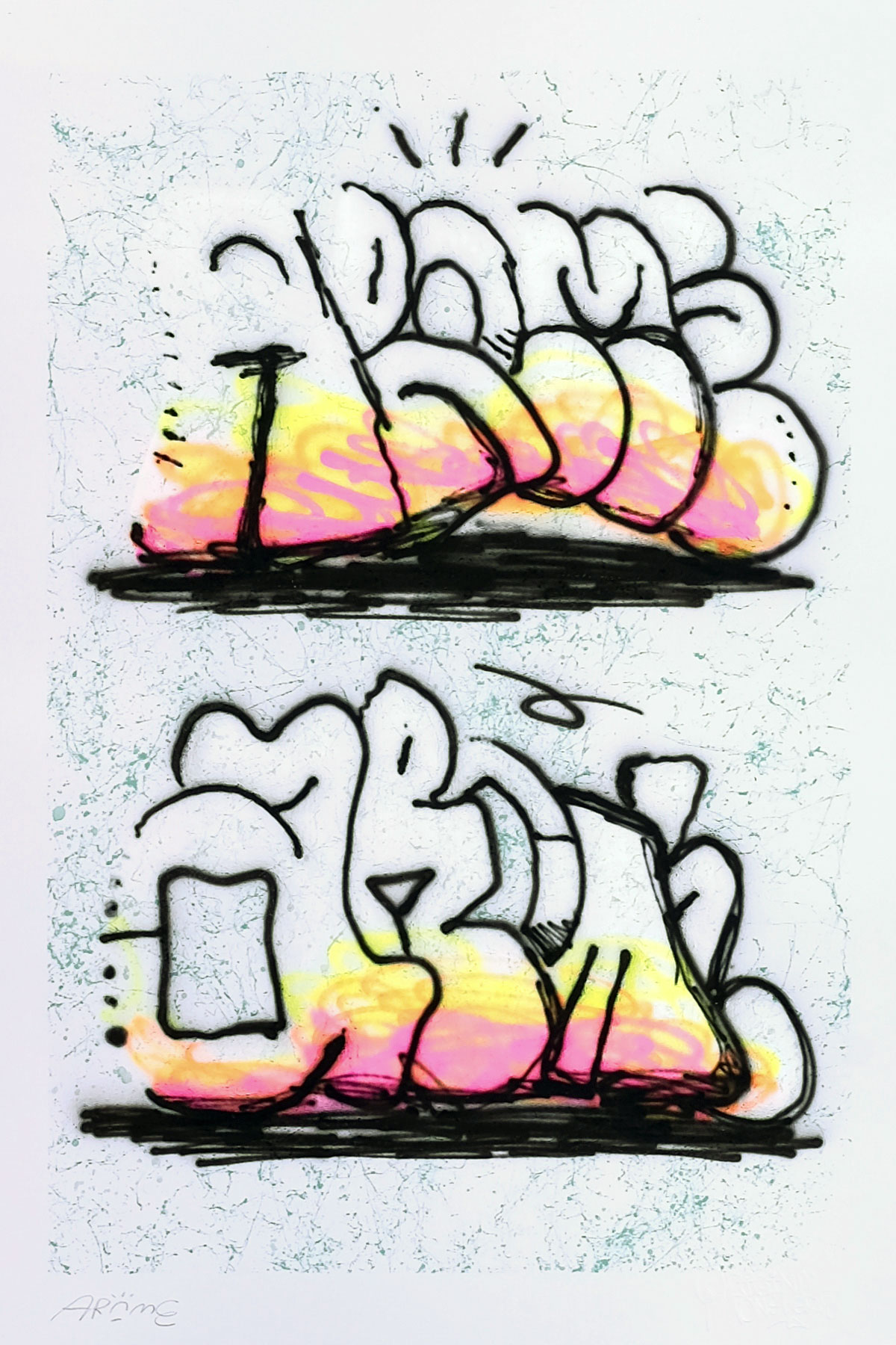Illustrazione THROW-UP 25 by Arome