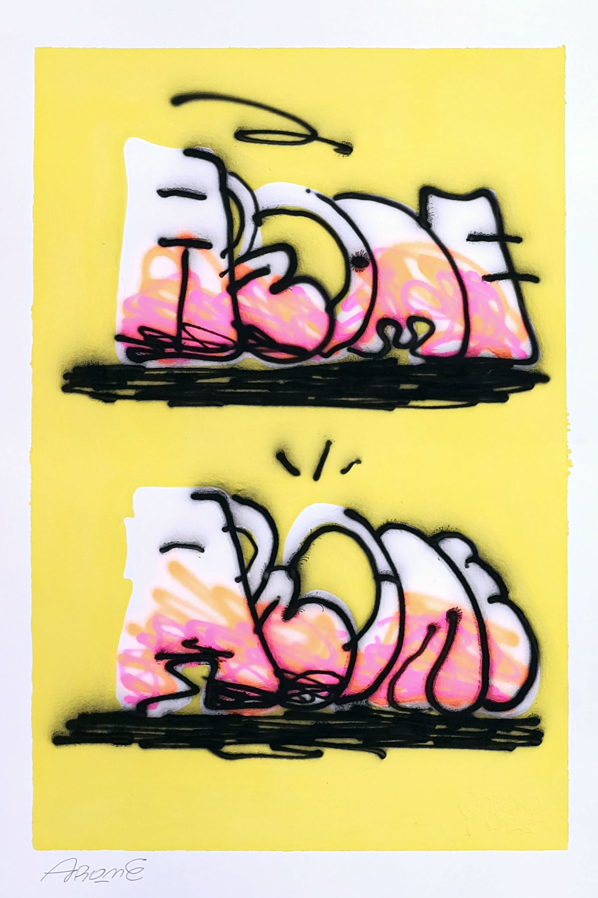 Illustrazione THROW-UP 29 by Arome