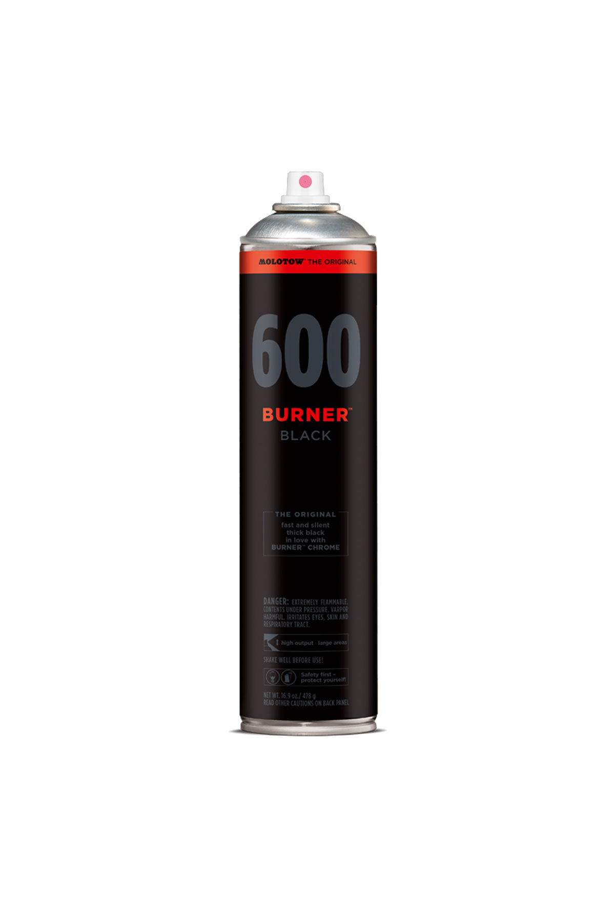 Molotow BURNER BLACK 600ml