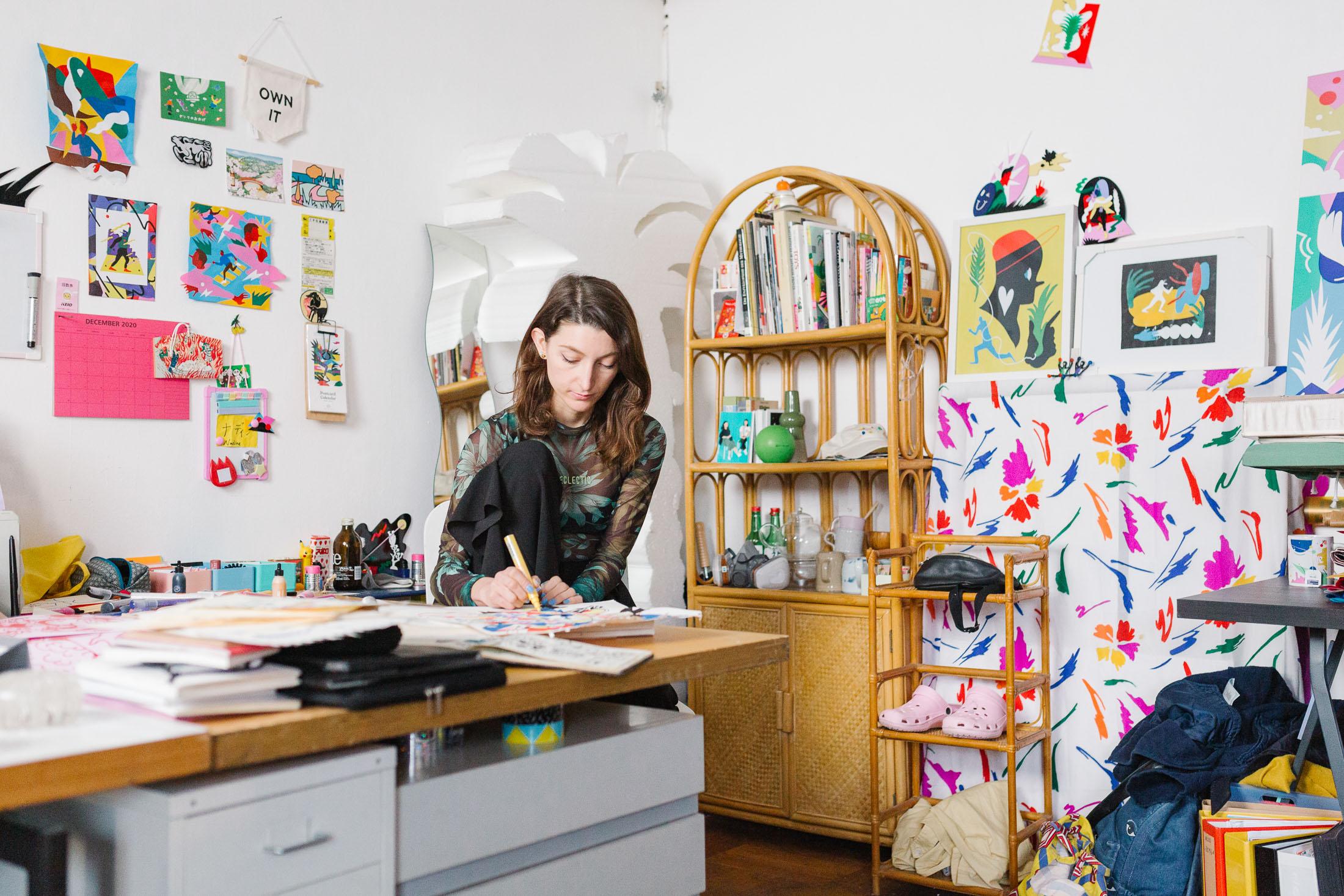 NADINE KOLODZIEY - L'illustratrice che si ispira alla cultura giapponese(Video)