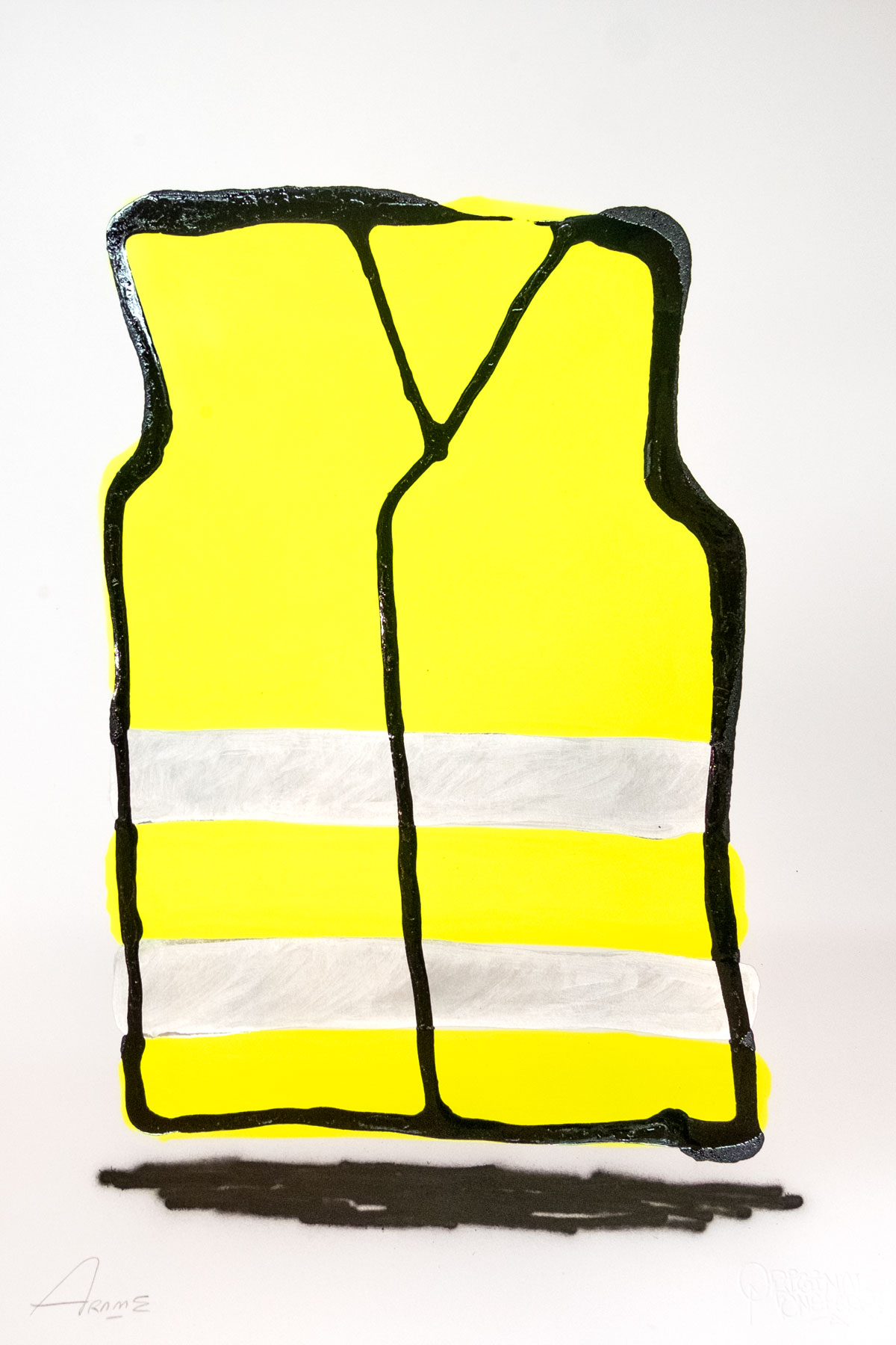 Illustrazione RAILWORKER YELLOW by Arome