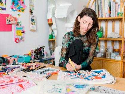 NADINE KOLODZIEY – L'illustratrice che si ispira alla cultura giapponese(Video)
