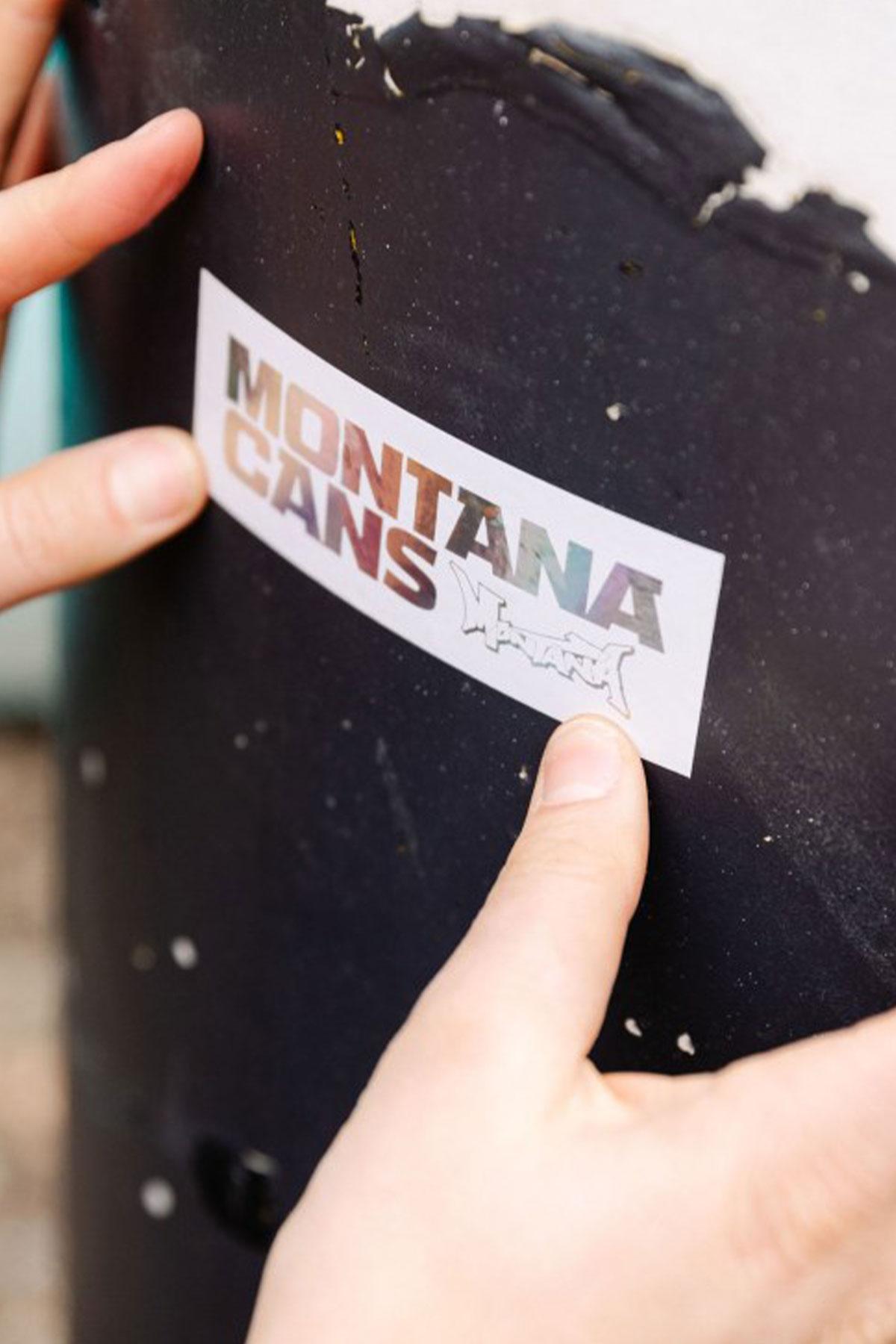Montana SPRAYCATION STICKER Set 2