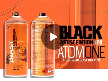 Nuova Montana BLACK ARTIST EDITION #20 firmata da ATOM ONE (Video)