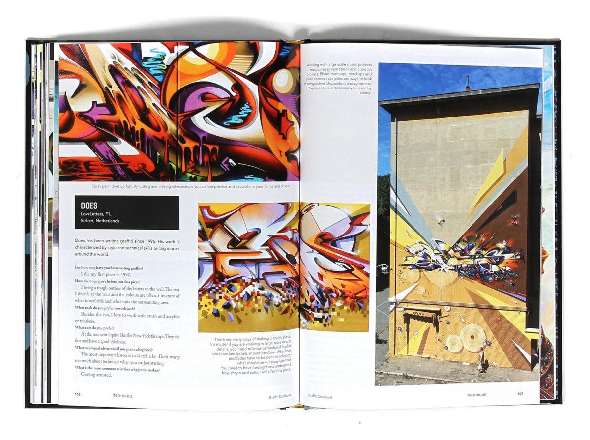 GRAFFITI COOKBOOK di Dokument Press