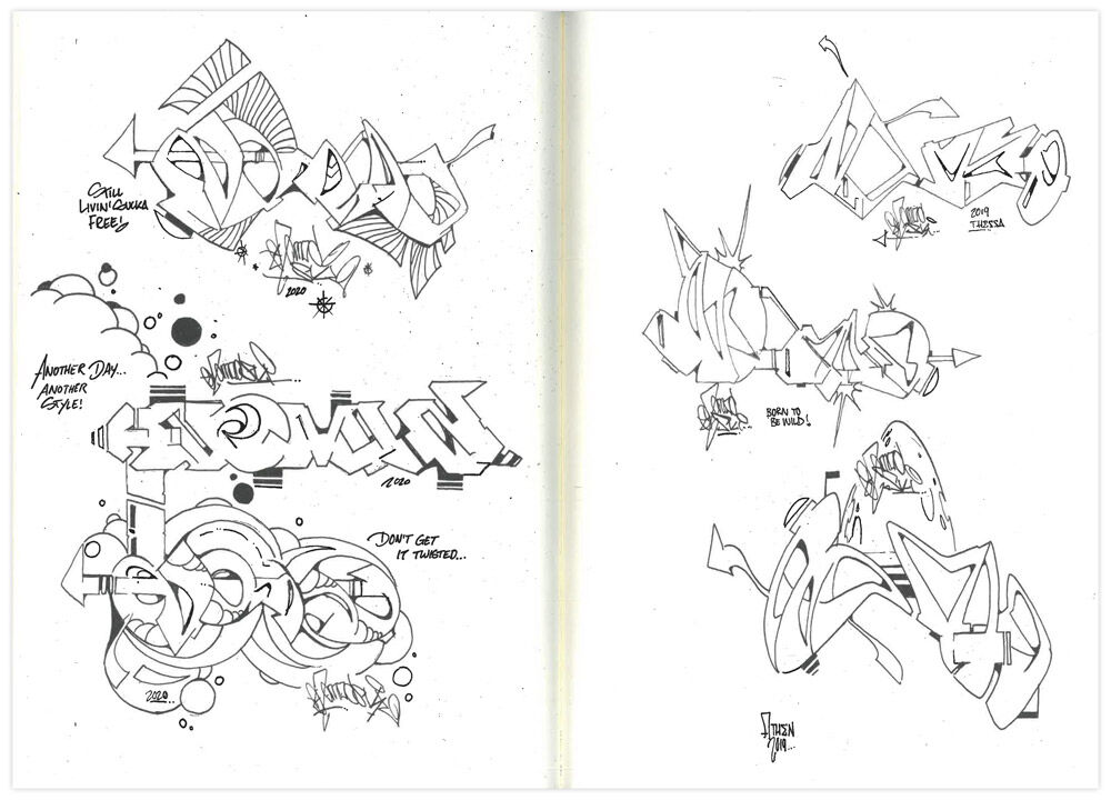 N.O.MADSKI - The Sketch Issue di N.o.Madski