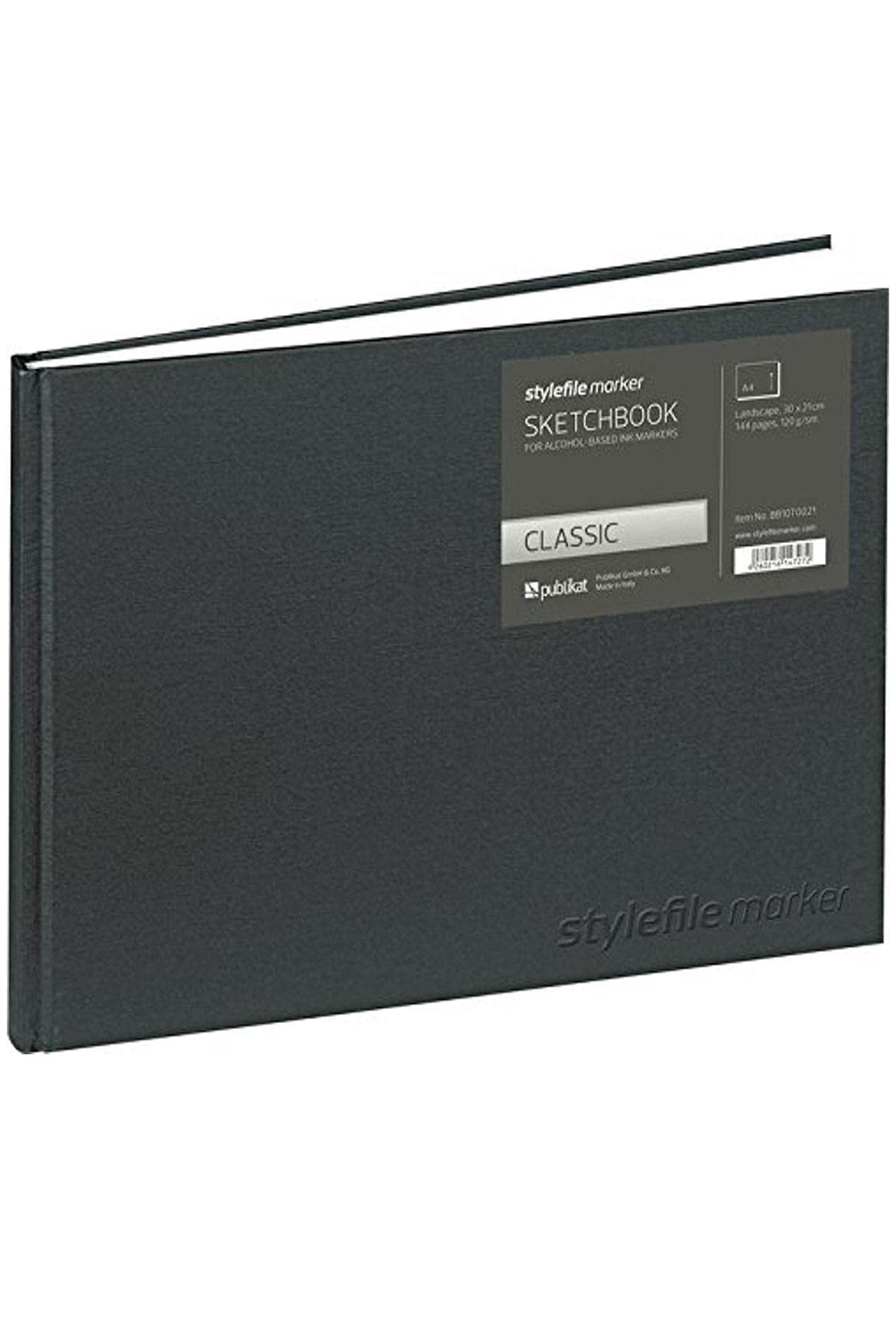 Stylefile Marker Classic Sketchbook - LANDSCAPE A4
